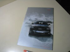 AUDI A3 Japanese Brochure 2003/07