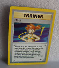 Misty Trainer Holo card #  18/132 Pokemon Gym Heroes