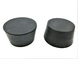 """#9.5  9 1/2  Solid Rubber Stopper  Lab Tapered Plug Bung  Fits 1 1/2"""" to 1 3/4"""""""