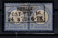 G128779 / GERMANY / REICH / MI # 5 PAIR USED CV 100 $