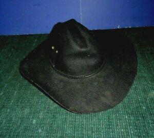 Child's Black Cowboy Hat Size Small