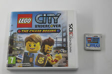 NINTENDO 3DS N3DS LEGO CITY UNDERCOVER THE CHASE BEGINS SIN MANUAL PAL ESPAÑA