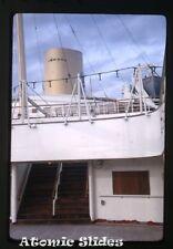 1965  kodachrome Photo slide    MS Gripsholm ship  Swedish American Line SAL