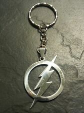 The Flash Justice League Dog Tag Key Chain Pendant Charm Comic Book Movie Gift
