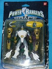 Power Rangers In Space SILVER RANGER 100% IN BOX