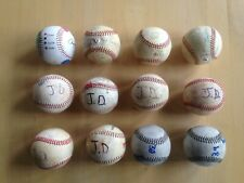 1 Dozen (12) Batting Practice Used Baseballs, Roger Clemens Pitch Training Ball