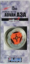 Fujimi TW18 ADVAN A3A Wheel & Tire Set 15 inch 1/24 Scale Kit