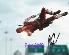 Ryan Reynolds Wade Deadpool SIGNED AUTOGRAPHED 10X8 PRE-PRINT PHOTO