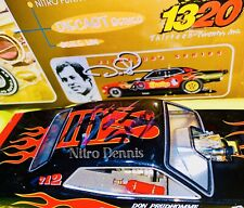 "NHRA 1:24 Diecast SNAKE Top Fuel NITRO Funny Car 40th DON PRUDHOMME ""Signed"""