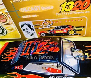 """NHRA 1:24 Diecast SNAKE Top Fuel NITRO Funny Car 40th DON PRUDHOMME """"Signed"""""""