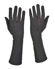 Women Long Black Full Finger Gloves Hand Cover Islamic Muslim/Evening/Fancy Dres
