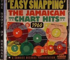 Various(CD Album)Easy Snapping- The Jamaican Chart Hits 1960-Sunrise-UK-New