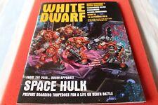 Games Workshop enana blanca edición 33 Space Hulk especial 2014 de septiembre Menta fuera de imprenta