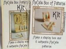 Dolls house printie KITs-set of 2 Haberdashery, sewing,patterns set #3