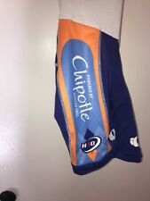 RARE Garmin Chipotle Slipstream Pro Cycling Team Pearl Izumi Bib Shorts XSMALL