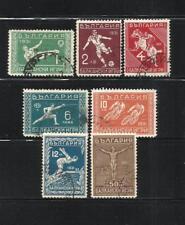 BULGARIA. Año: 1931. Tema: DEPORTES.