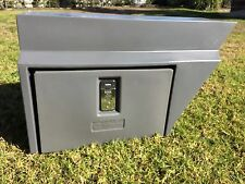 RIGHT HAND SIDE GREY UNDERBODY POLY UTE TOOL BOX FACTORY SECOND
