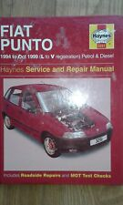 Fiat Punto Haynes Service & Repair Manual  L to V Reg - 1994-1999 (3251)
