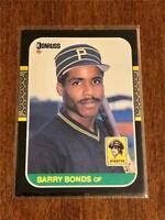 1987 Donruss Baseball ROOKIE - Barry Bonds RC - PITTSBURGH PIRATES