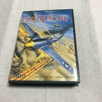 Fire Mustang Mega Drive MD Genesis Taito Used Japan Shooter Boxed Tested 1991