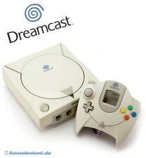 SEGA Dreamcast - Konsole + Original Controller + Zub. sehr guter Zustand