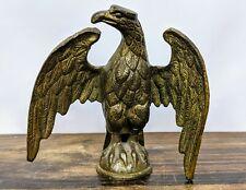 Antique Civil War Era Bronze Eagle Finial Flag Topper OH or PA Regiment
