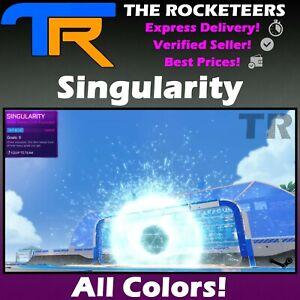 [PC] Rocket League Every Painted SINGULARITY Black Market Goal Explosion