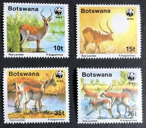 Botswana - 1988 - WWF - Red Lechwe - Unmounted Mint.