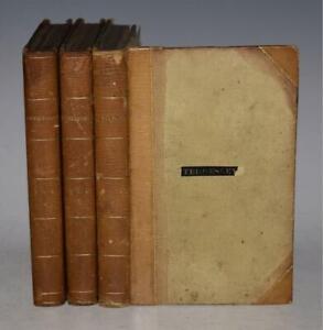 (Walter Scott) Kenilworth a Romance 3 Vols Archibald 1821 1st LEATHER BINDING