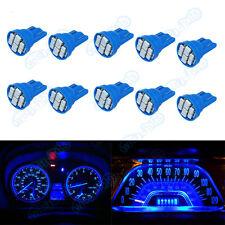 10X Blue Bright 12V LED 194 Wedge Instrument Panel Light Bulbs Fits Chevrolet XB