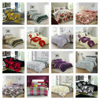 Bedding Set With Duvet Cover Pillow Cases Quilt Cover Set Single, Double, King