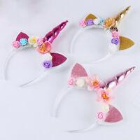 Serre-tête licorne - déguisement fantaisie - fête anniversaire enfant glitter