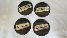 4 x65 mm  BBS BMW,AUDI,VW  Aufkleber Emblem Selbstklebend  Raddeckell Aluminium