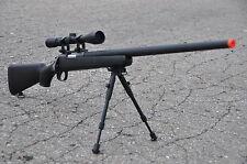 WELL Bolt Action VRS10 Airsoft Sniper Gun 9X  Scope & Bi-pod