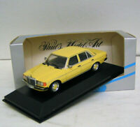 Mercedes-Benz W 123 Limousine 230 D - yellow - 1977 - Minichamps 1:43