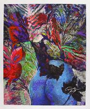 Ernst Fuchs - Le Poppo en Vase - handsigniert