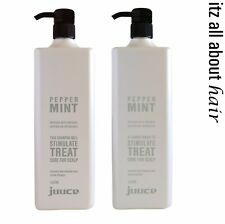 Juuce Peppermint Shampoo and Conditioner 1lt Duo