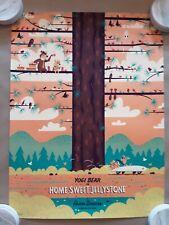 Mondo Screenprint Poster Yogi Bear Hanna-Barbera