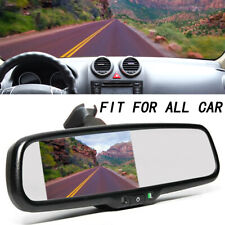 """4.3"""" TFT LCD Display Monitor Rearview Mirror Rearview Mirror Auto Car DVD A9"""