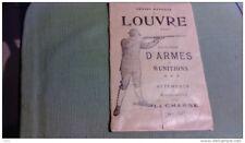catalogue d´armes et de munitions vêtements accessoires pour la chasse 1913 rare