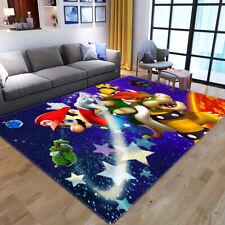 Super Mario Area Rug Carpet 3D Print Anti-Skid Rug Living Room Bedroom Floor Mat