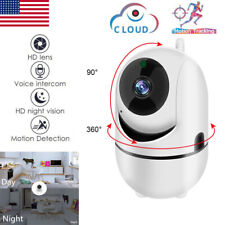 Security Camera Hd 1080P WiFi Ip In/Outdoor Home Monitor Night Vision Waterproof