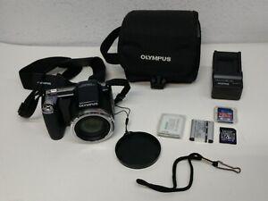 Olympus Stylus SP-810UZ 14.0MP Digital Camera 36 Time Zoom * Black *