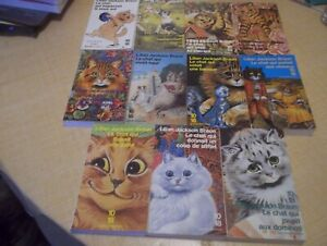 Lilian Jackson Braun, Le Chat: lot de 11 éditions (dont 9 originales).