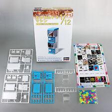 Hasegawa 1/12 Posable Figure Accessory Mini Gashapon Vending Machine & Capsules