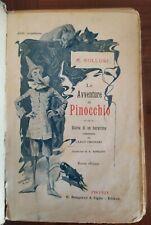 COLLODI LE AVVENTURE DI PINOCCHIO ILLUSTRAZIONI DI CARLO CHIOSTRI 1903 BEMPORAD