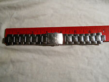 VINTAGE(1970's)MEN HEAVY SEIKO-5 BRACELET, SS, 6 mm. ENDS, NICE CONDITION