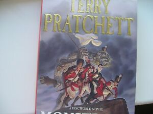 TERRY PRATCHETT - SIGNED FIRST EDITION - MONSTROUS REGIMENT - HB 2003 EDITION