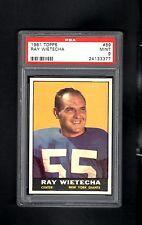 1961 Topps # 89 Ray Wietecha PSA 9 MINT
