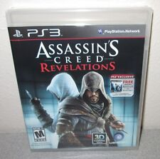 ASSASSIN'S CREED Revelations SEALED NEW PlayStation 3 Action Adventure PS3